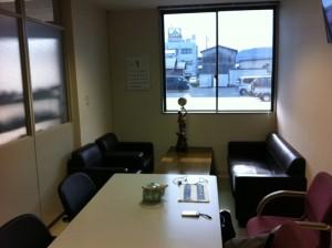 高島市商工会販促講座講師控室